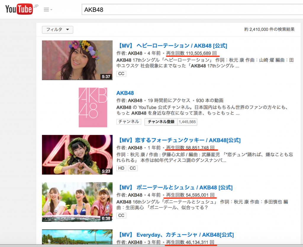 AKB48_-_YouTube 3