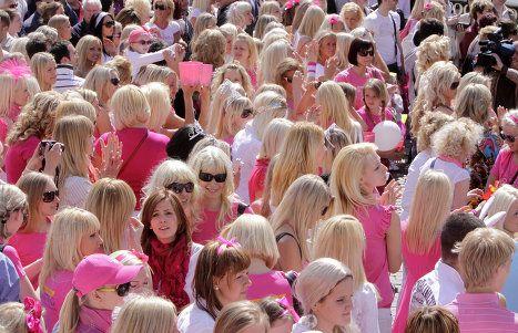 ブロンド祭り